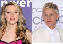 Kate McKinnon breaks down during tribute to Ellen DeGeneres at Golden Globes