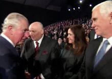 Watch Prince Charles snub Mike & Karen Pence in front of world leaders