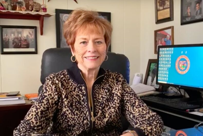 Arizona State Senator Sylvia Allen wanted to ban any mention of homosexuality from schools.