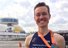 Chris Mosier is the first out transgender man to qualify for a men's Olympic trial