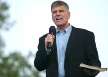 Franklin Graham thanks God for giving us Donald Trump so we could say Merry Christmas for four years