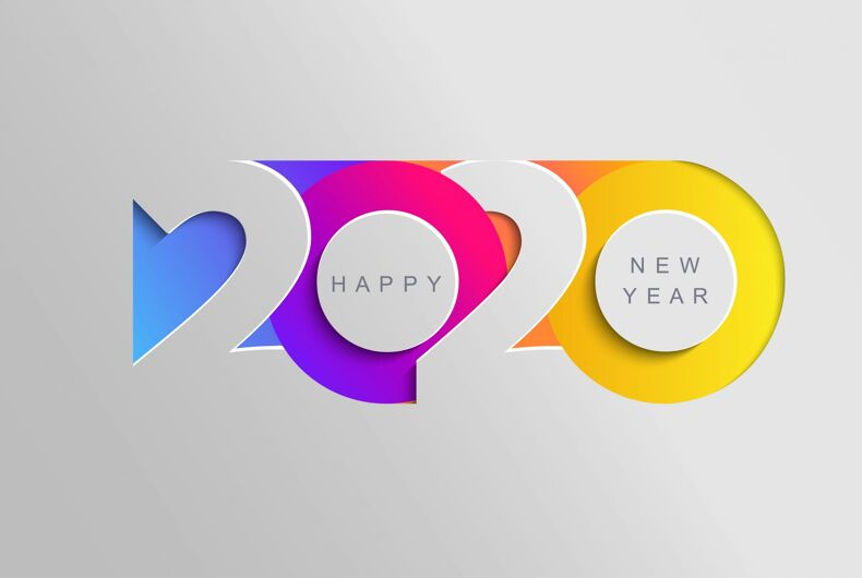 Happy New Year 2020! Here are some New Year's resolutions for gay and LGBTQ people.