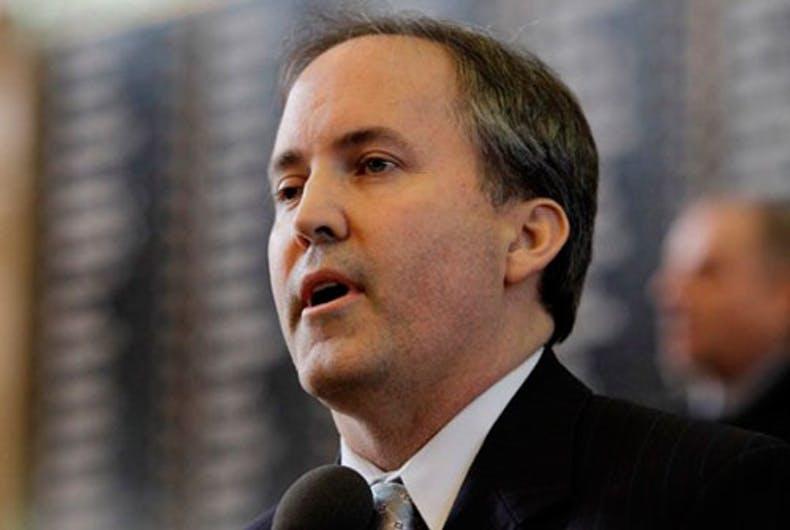 Texas Attorney General Ken Paxton (R)