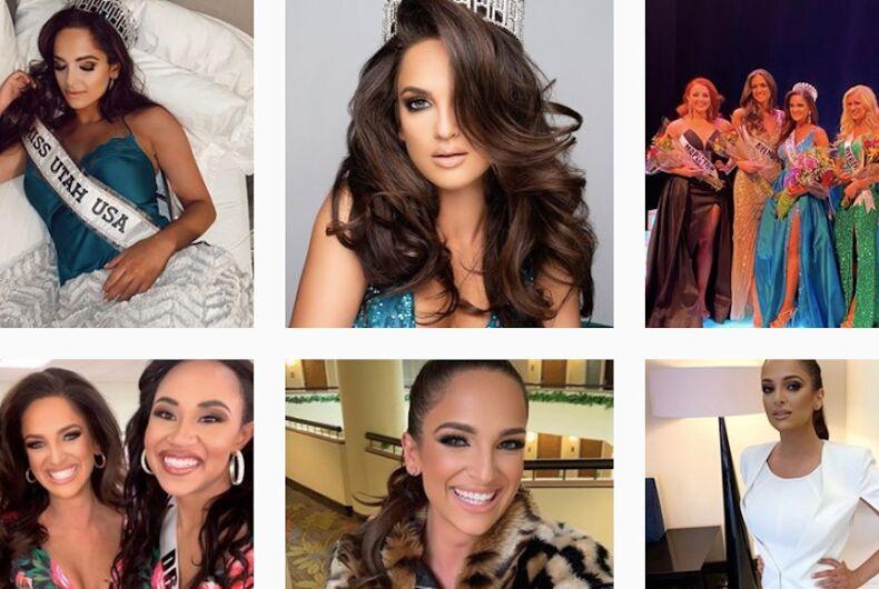 Rachel Slawson, Miss Utah 2020 bisexual