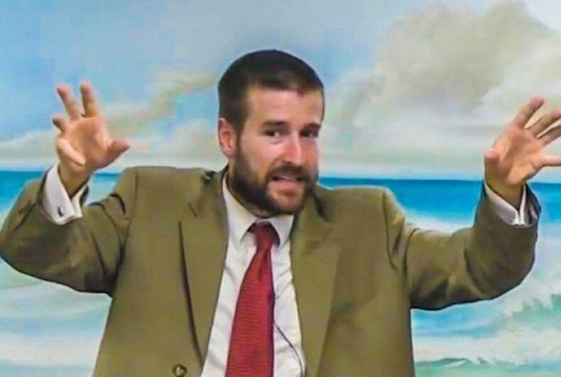 Hate pastor Steve Anderson