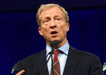 Tom Steyer stumbles when asked about his past comments on LGBTQ issues