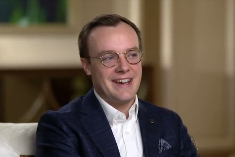 Chasten Buttigieg in interview with ABC News, February 2020.