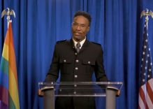 Billy Porter reads Trump, but also gives us hope, in LGBTQ State of the Union address