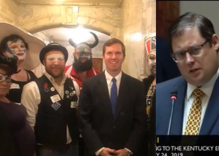 A conservative tried to embarrass a Democrat for taking picture with LGBTQ activists