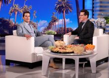 Matt Bomer revealed a secret on Ellen while Sean Hayes was guest host