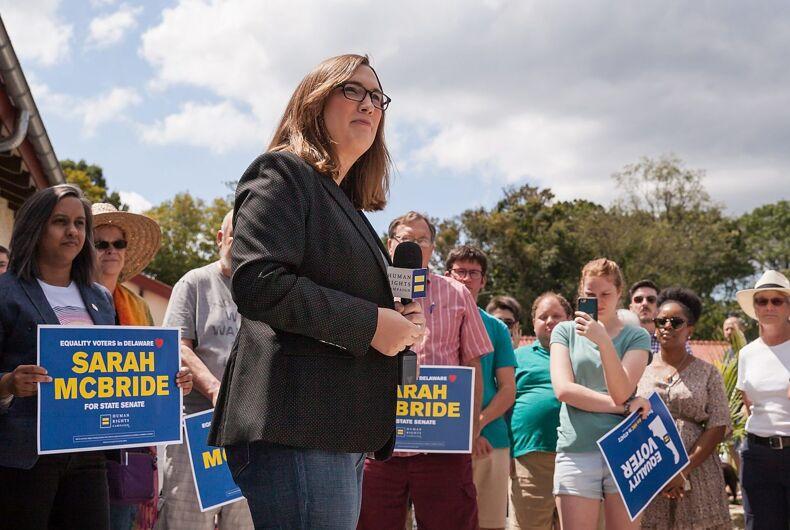 Delaware State Senate Candidate, Sarah McBride