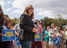 Trans candidate Sarah McBride has blazed many trails. Now she's ready for a new challenge.
