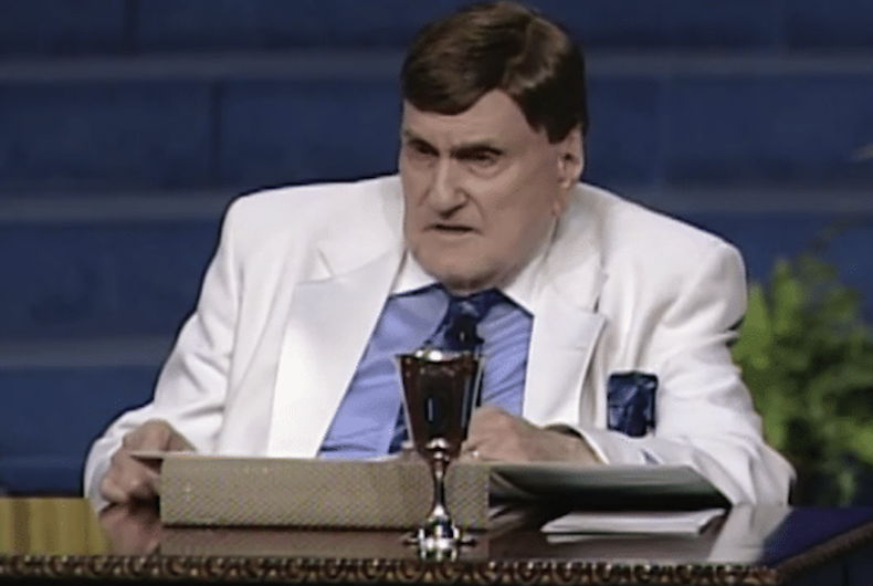 Brock Miller is suing the Grace Cathedral megachurch of Ohio after Rev. Ernest Angley allegedly sexually harassed and abused him.