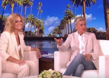 "Ellen invited the viral London tube singer to perform Lady Gaga's ""Shallow"" on her show"
