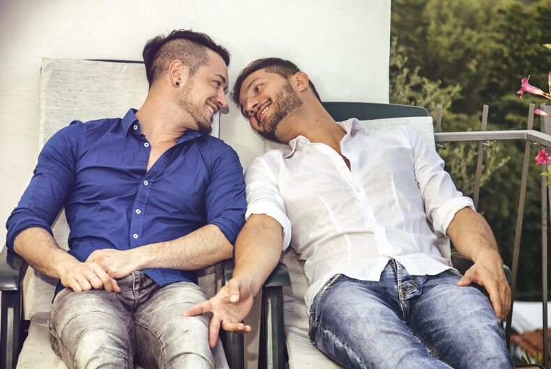 Gay couples have less stressful marriages than straight