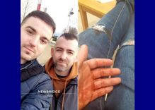 Three men brutally stabbed & kicked a gay couple while filming it