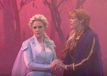 Frozen's Elsa comes out as a lesbian in Kate McKinnon sketch