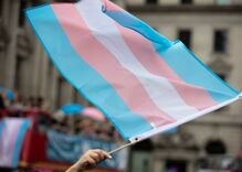 I created the biggest symbol of trans visibility. Here's what today means to me.