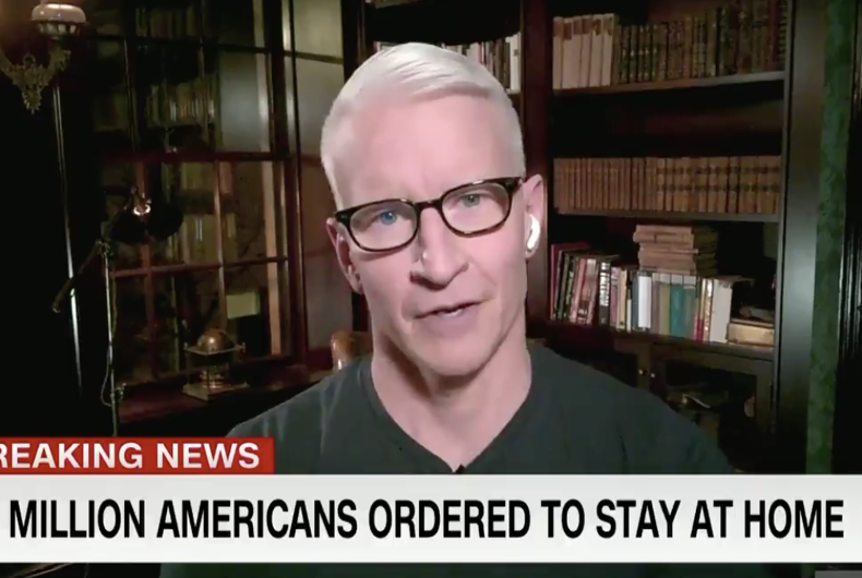 Anderson Cooper, anchoring
