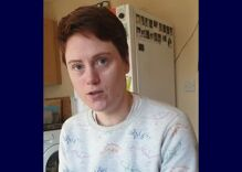 Lesbian doctor with coronavirus documents her illness on video