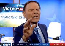 "Televangelist says Christians have ""holy spirit immunity"" to COVID like Donald Trump"