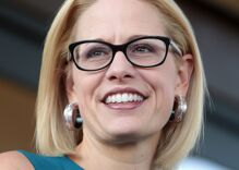 Out Senator Kyrsten Sinema endorses Joe Biden