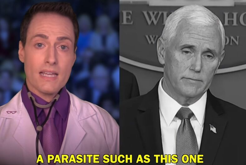 Randy Rainbow and Mike Pence