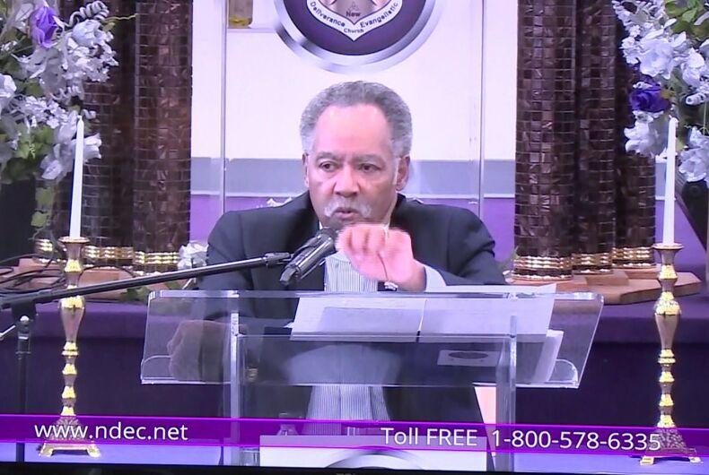 Bishop Gerald O. Glenn of Richmond Virginia's New Deliverance Evangelistic Church
