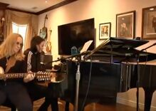 Stop everything & watch Melissa Etheridge perform a duet with her daughter in their living room