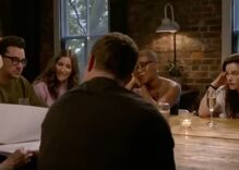 The cast of Schitt's Creek broke down in tears after they were read a letter from moms of LGBTQ kids