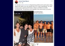 """Aaron Schock is partying with a group of gay men in Mexico for his """"self-isolation"""""""