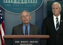Anthony Fauci gives tacit OK to hook ups during the pandemic
