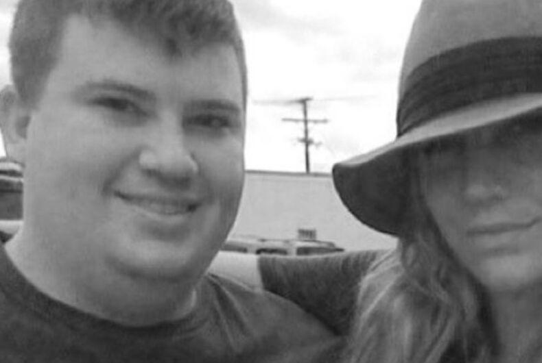 Blake Brockway and Kesha