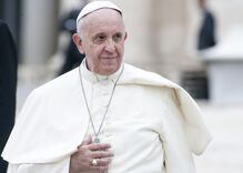 "Pope says Catholic Church can't bless same-sex relationships because they're ""sin"""