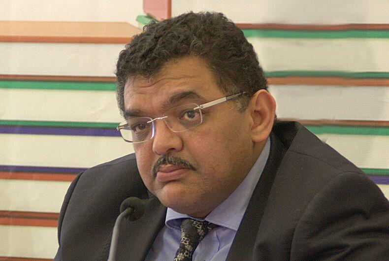 Tunisian Minister of Local Affairs Lofti Zitoun