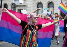A bisexual activist asked for a bi flag emoji. The group that governs emojis said no.