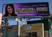 """Rebecca """"It's Friday, Friday"""" Black comes out"""