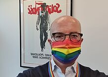 British embassy staff call out Poland's anti-LGBTQ policies by wearing rainbow face masks