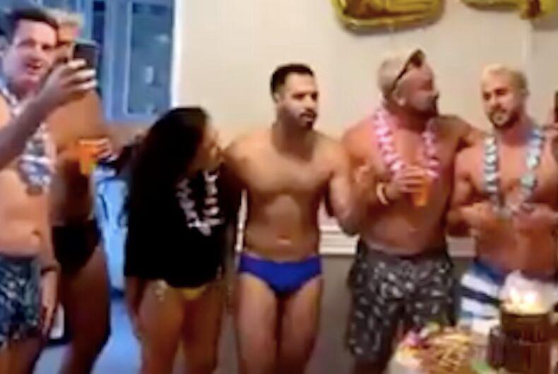 Andrew Gillum, coronavirus, birthday party