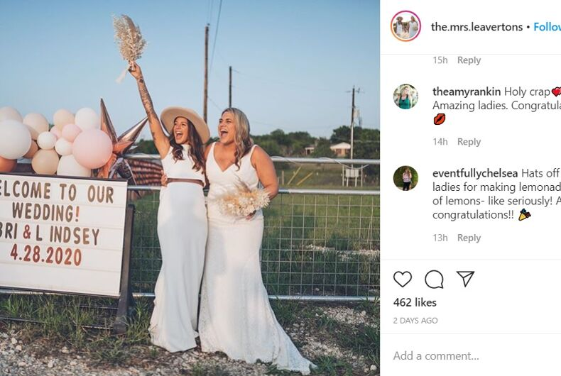 Bri and Lindsey Leaverton used social media to help guests