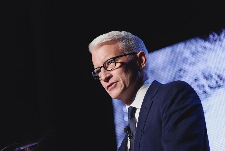 5/15/2016: CNN journalist Anderson Cooper speaking in Toronto at the Einstein Gala.