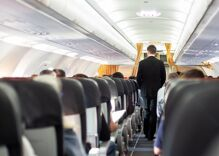 """Passenger who squeezed flight attendant's butt & called him """"gay boy"""" gets sent to prison"""
