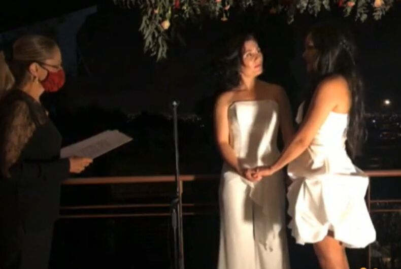 The marriage in Costa Rica