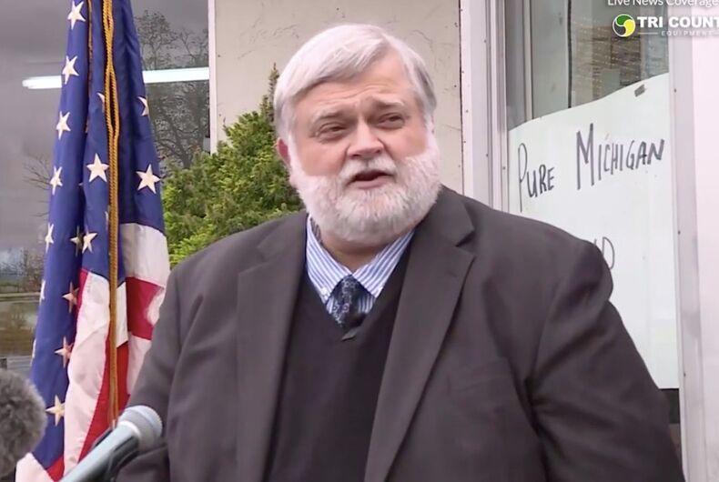 David Kallman, Michigan, anti-LGBTQ