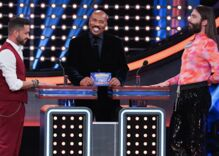 "The old & new ""Queer Eye"" casts will face off on Celebrity Family Feud. Can Steve Harvey handle it?"