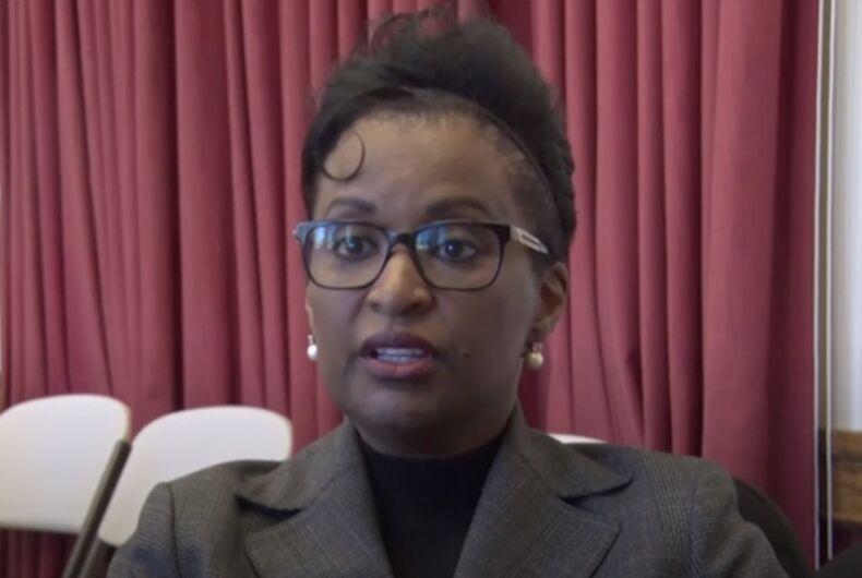 Robin Vaugh, homophobic city councilwoman for Trenton, New Jersey
