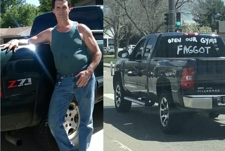 The truck and the alleged owner