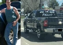 "Truck painted with ""OPEN OUR GYMS F****T"" cruises Colorado to protest safer-at-home order"