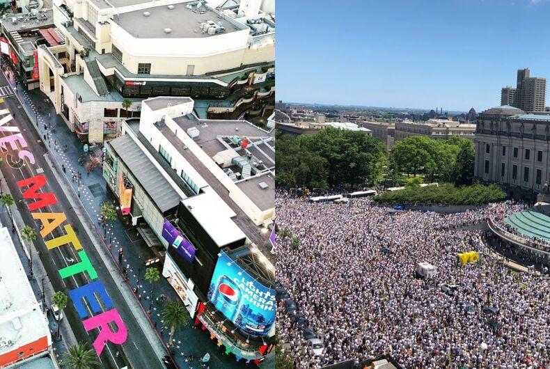 Thousands marched nationwide to say #AllBlackLivesMatter