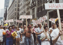 Archived Getty Images photos show the evolution of Pride through the years